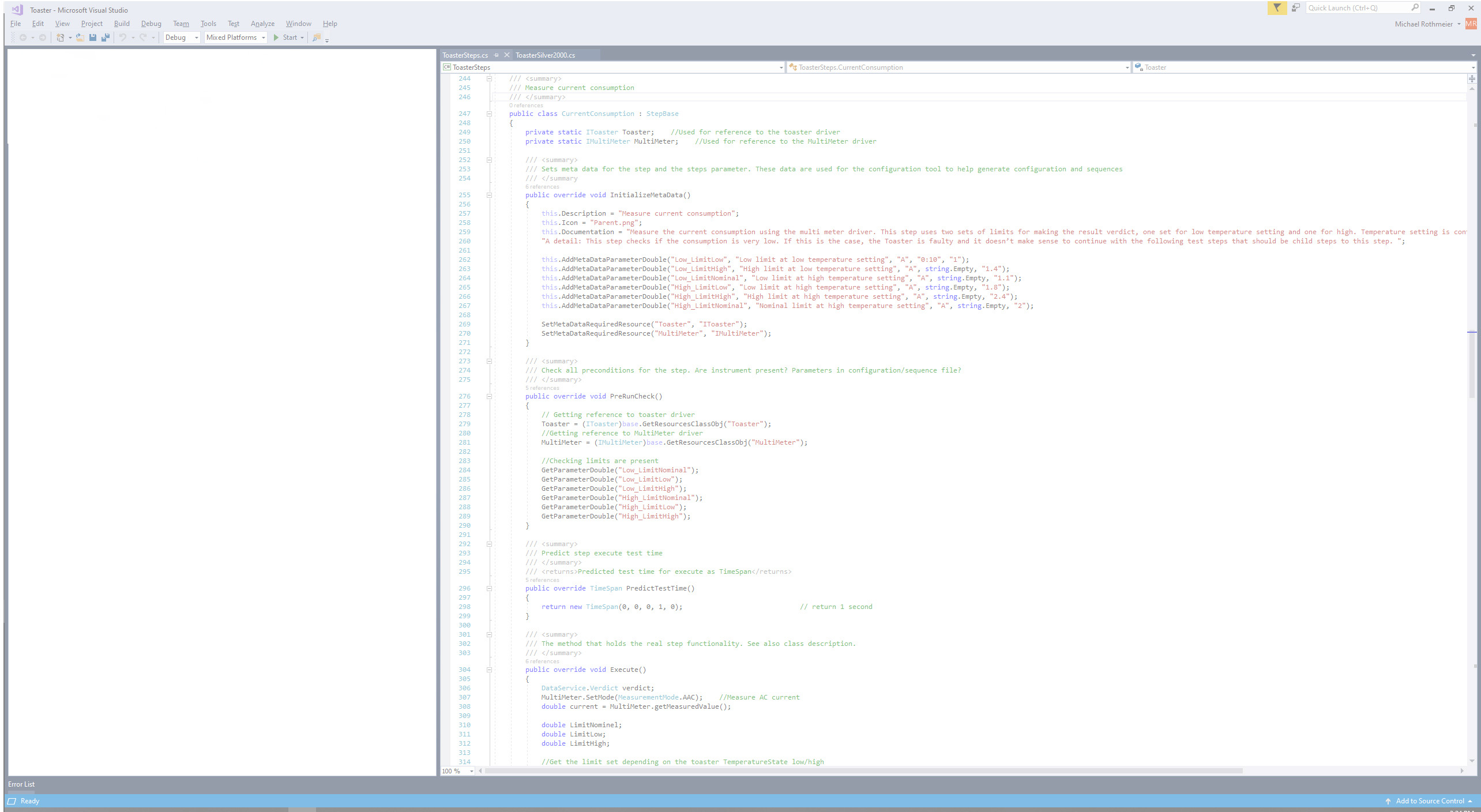 C# code snippet